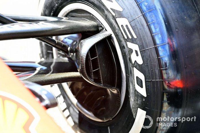Frenos delanteros en Ferrari SF90