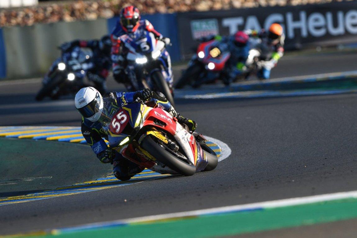 # 55 National Motos: Stephane Egea, Guillaume Antiga, Kevin Trueb