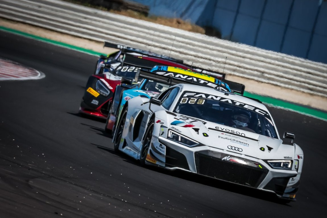 # 27 Sainteloc Racing Audi R8 LMS GT3: Finlay Hutchison, Markus Winkelhock