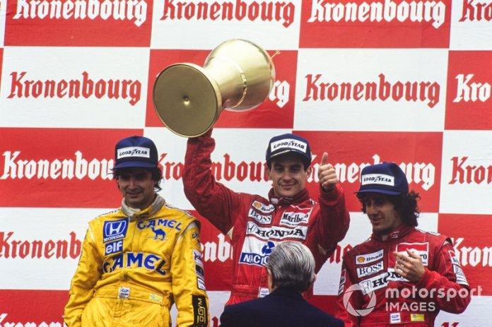 13. GP de San Marino 1988: Ayrton Senna y Alain Prost (McLaren)