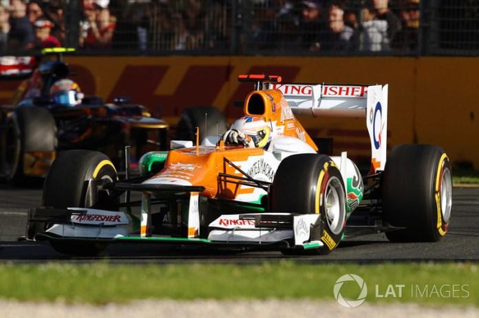 Paul Di Resta - 2 GP liderados