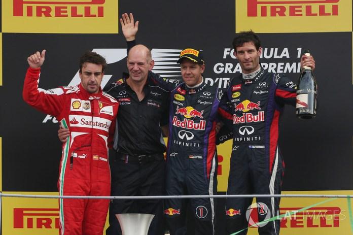 95- Fernando Alonso, 2º en el GP de Italia 2013 con Ferrari