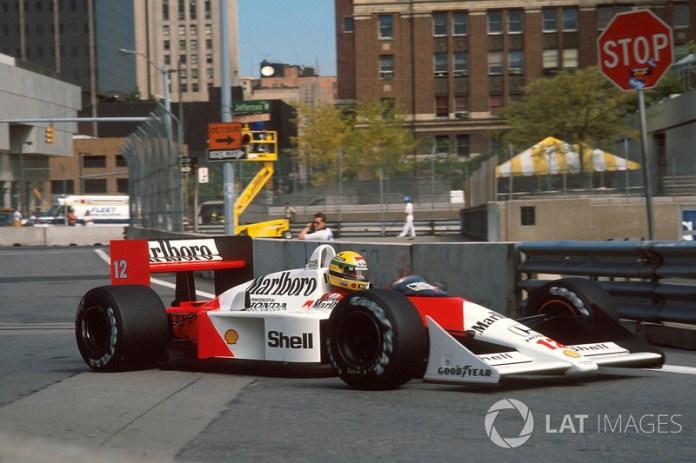 16. GP de EE UU 1988: Ayrton Senna y Alain Prost (McLaren)
