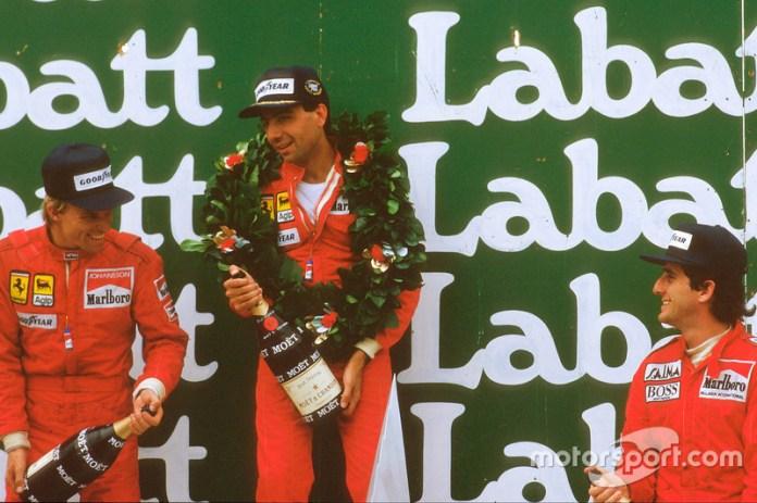 Michele Alboreto (3 victorias)