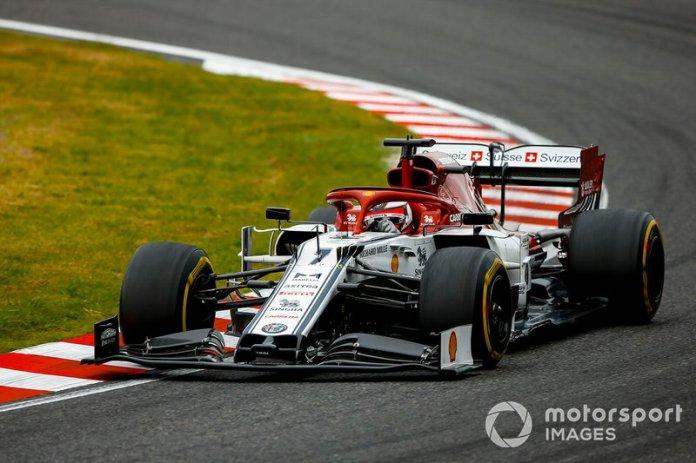 11º Kimi Raikkonen, Alfa Romeo Racing C38 (1:29.477)