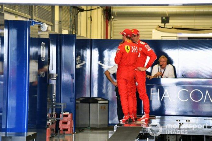 Sebastian Vettel, Ferrari, Charles Leclerc, Ferrari