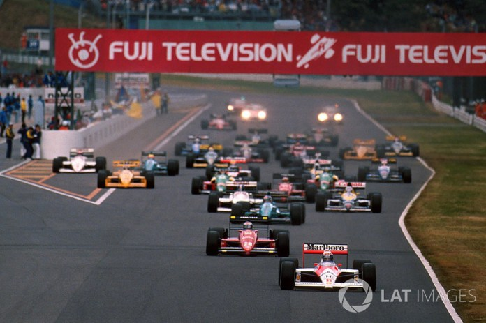 21. GP de Japón 1988: Ayrton Senna y Alain Prost (McLaren)