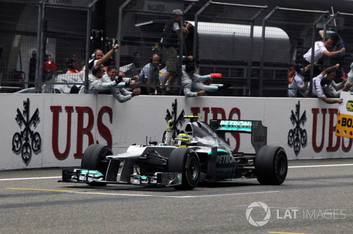 2012: Mercedes AMG F1 W03