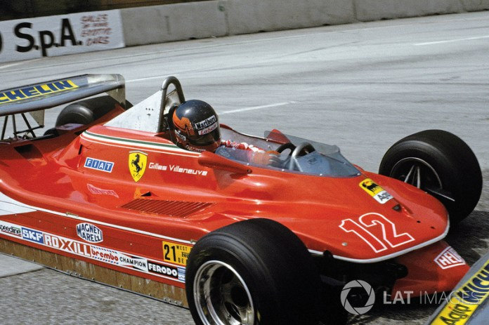 54: Gilles Villeneuve, Ferrari 312T4