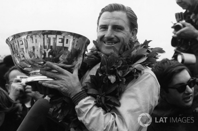 Graham Hill: 7 temporadas en BRM (desde 1960 hasta 1966)