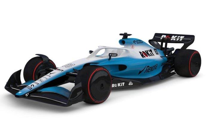 Boceto de Williams F1 2021