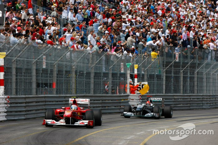 Monaco Grand Prix 2010, ANOTHER ROCE WITH ALONSO