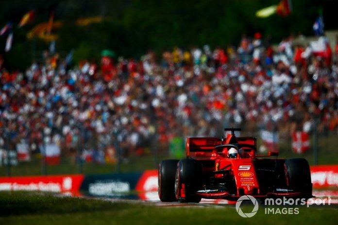 Lo que Vettel tenía que decir tras la carrera