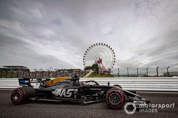 13º Romain Grosjean, Haas F1 Team VF-19 (1:29.553)