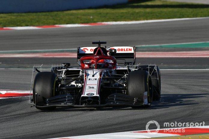 12º Robert Kubica, Alfa Romeo Racing C39: 1:16.942 (con neumáticos C5)