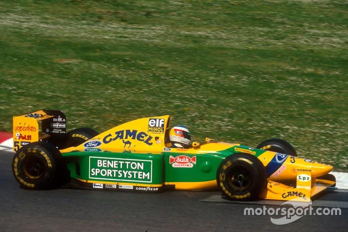 1993: Michael Schumacher, Benetton