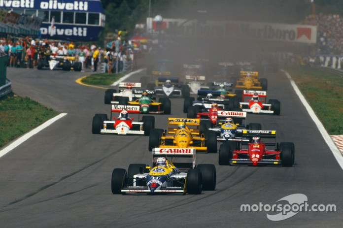 70: Gerhard Berger, Ferrari F187