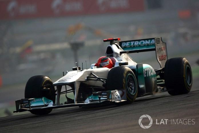 Michael Schumacher - 1 GP liderado
