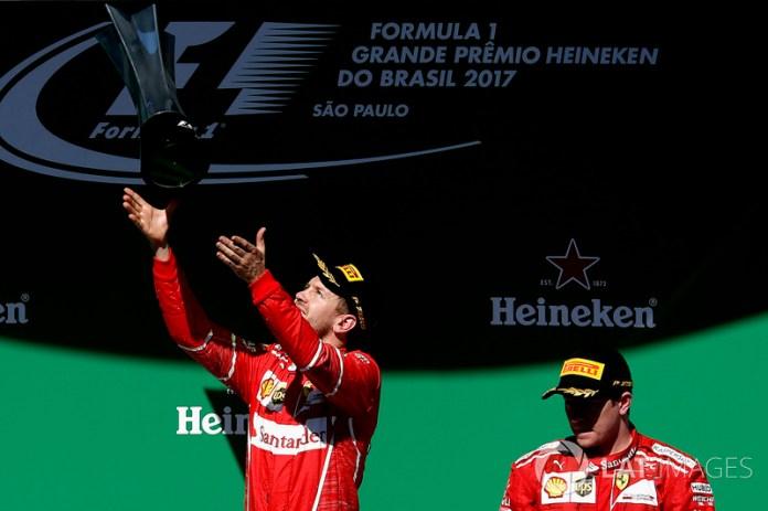 Brasil 2017: con título de pilotos ya decidido, logra su octava victoria junto a Ferrari.