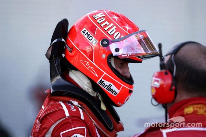 """2006: se despide con """"todo al Ferrari"""""""
