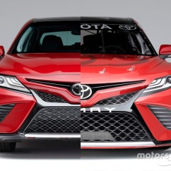 All New Camry 2017 Indonesia Grand Avanza Malaysia The Nascar Toyota Based On 2018 Road Car At