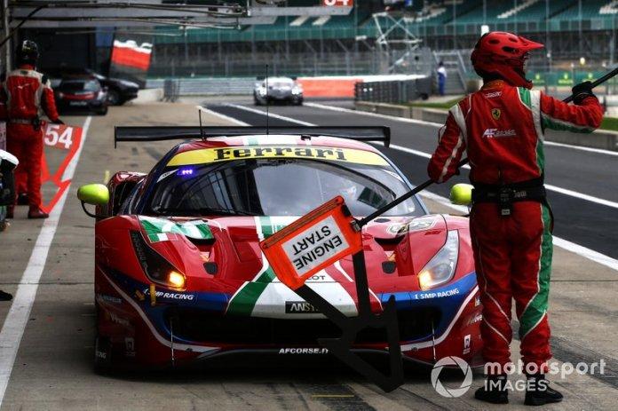 # 71 AF Corse Ferrari 488 GTE EVO: Davide Rigon, Miguel Molina