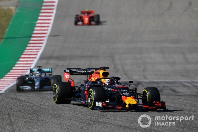 Max Verstappen, Red Bull Racing RB15, Lewis Hamilton, Mercedes AMG F1 W10, Charles Leclerc, Ferrari SF90