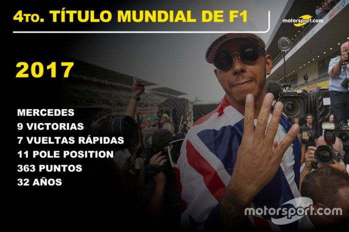 Lewis Hamilton, Mercedes Título Mundial 2017