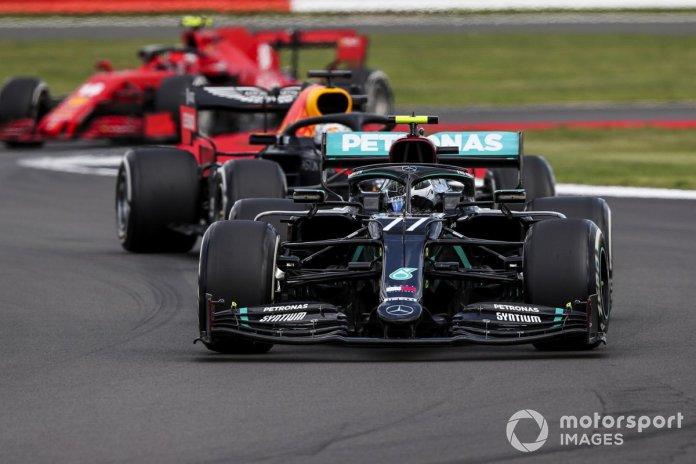 Valtteri Bottas, Mercedes F1 W11, Max Verstappen, Red Bull Racing RB16, Charles Leclerc, Ferrari SF1000