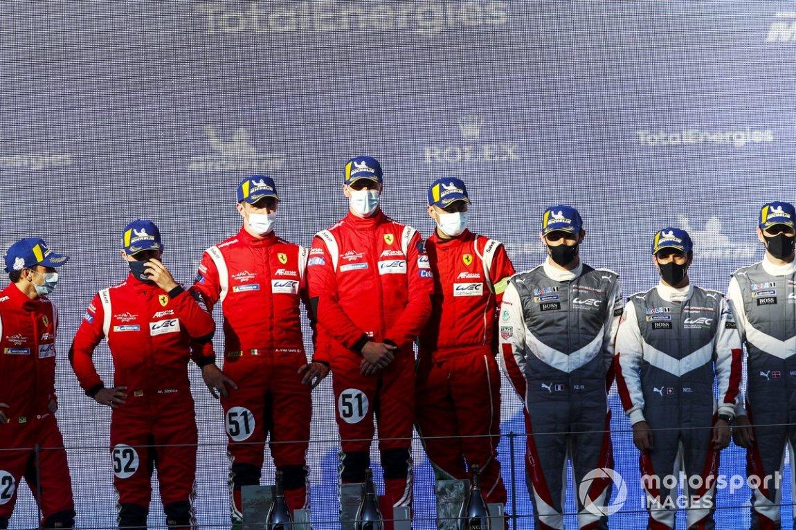 # 52 AF Corse Ferrari 488 GTE EVO: Daniel Serra, Miguel Molina and # 51 AF Corse Ferrari 488 GTE EVO: Alessandro Pier Guidi, James Calado