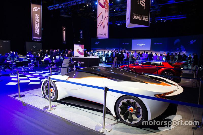 Aston Martin Dp 100 Vision Gran Turismo At Gran Turismo Sport Launch