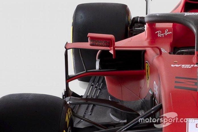 Ferrari SF1000 detalle lateral