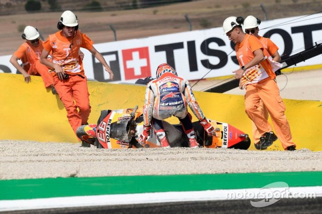 Accidente de Marc Márquez, Repsol Honda Team