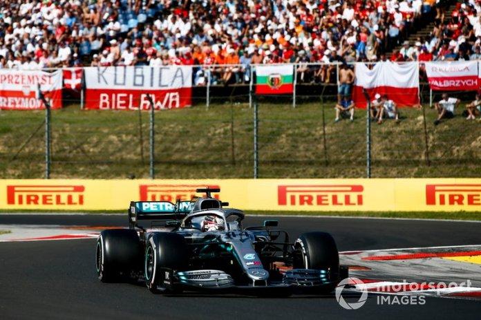 Hamilton no confía en la estrategia a dos paradas