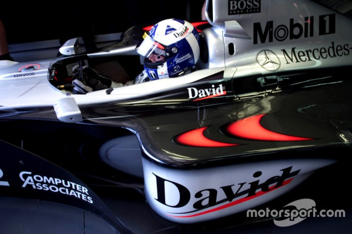 David Coulthard: 9 temporadas con McLaren (desde 1996 hasta 2004)