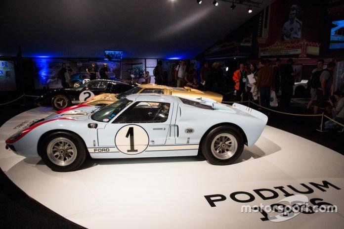 Le Mans 1966: second place, Ken Miles, Denis Hulme, Ford GT 40