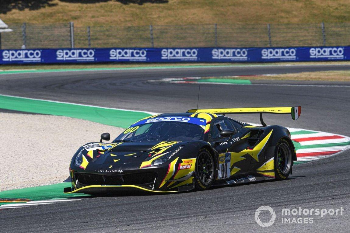 # 60 Iron Lynx, Ferrari 488 GT3 Evo: Andrea Piccini, Claudio Schiavoni, Rino Mastronardi