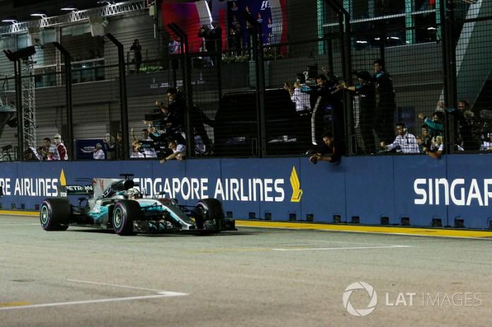 60- Gran Premio de Singapur 2017, Mercedes