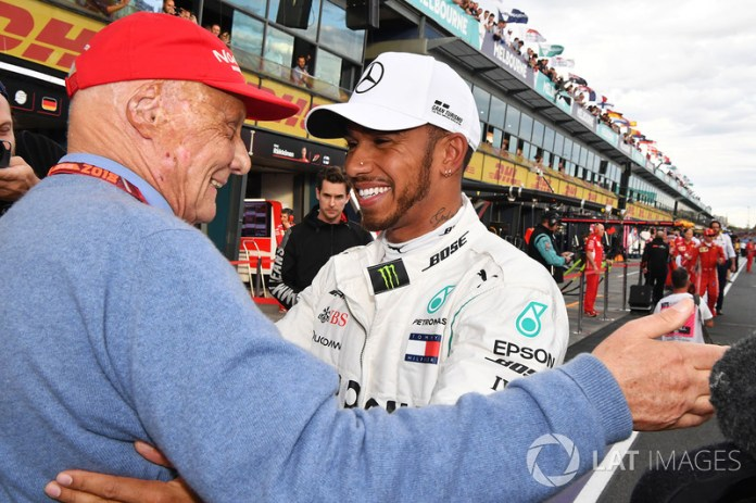 "After Lauda's death, Hamilton posted the following message: ""I will miss our conversations, laughs, big hugs after winning. It was an honor to work with you. I wouldn't even be on this team if it wasn't for you. Rest in peace. Thank you for be a bright light in my life. I love you, uncle. Your friend forever, Lewis """