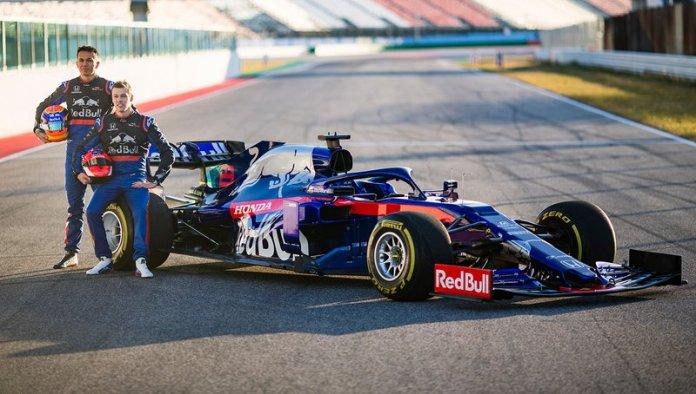 Presentación del Toro Rosso STR14