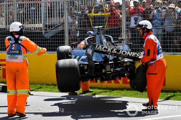 Kevin Magnussen - Treino classificatório do GP do Canadá