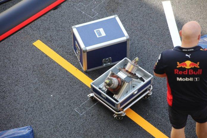 Red Bull racing simulador de pit stop