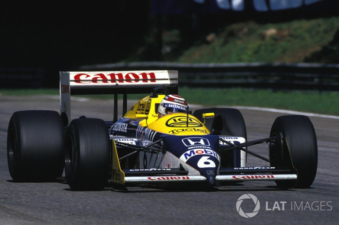Nelson Piquet, Williams-Honda FW11B, 1987