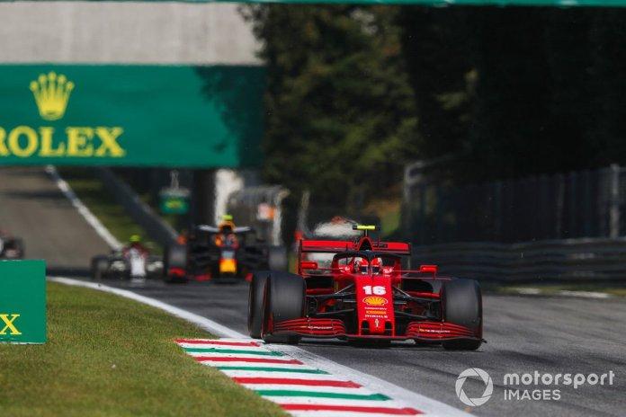 Charles Leclerc, Ferrari SF1000, Alex Albon, Red Bull Racing RB16