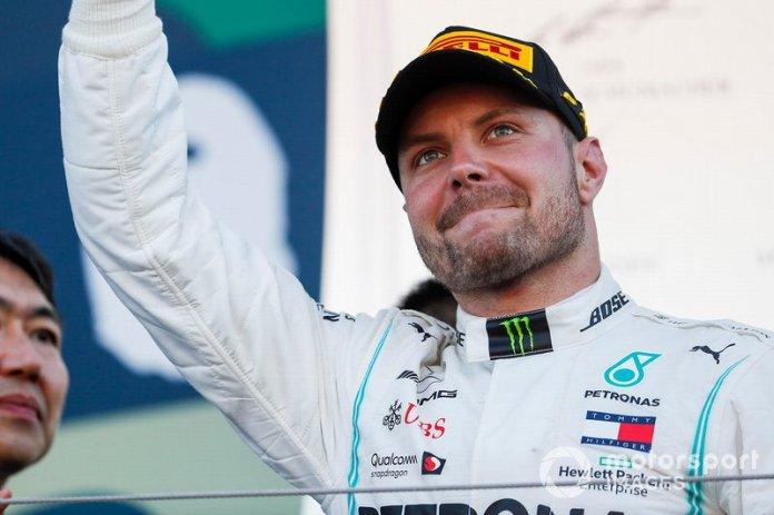 4º Valtteri Bottas, Mercedes AMG F1: 68 puntos (sube cuatro posiciones respecto a 2018)