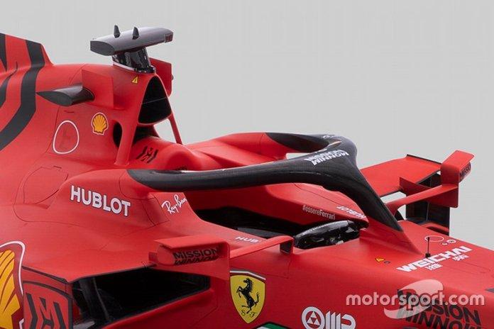Ferrari SF1000 detalle de la cabina