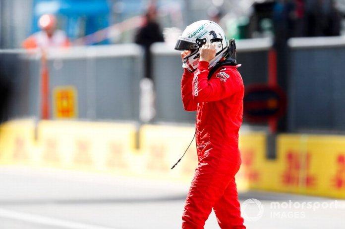 """Vettel: """"Gracias, gracias""""."""
