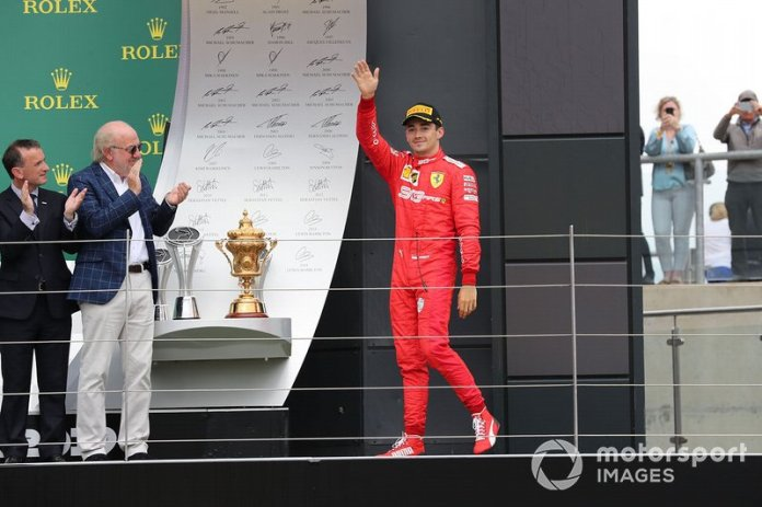 Tercero en el GP de Gran Bretaña