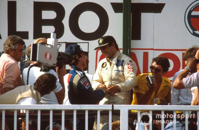 14- Elio de Angelis, 24 años, 4 meses y 20 días en el GP de Austria 1982