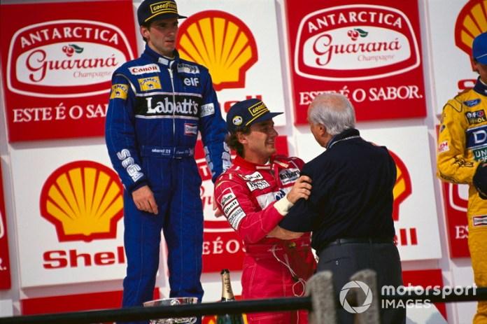 """""""Senna fue el único que alguna vez me pidió consejo"""". Juan Manuel Fangio"""